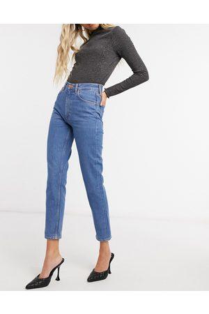 MiH Jeans M.i.h. Mimi high waist slim leg jeans in blue