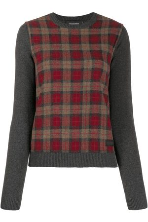 Dsquared2 Check knitted jumper