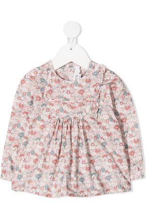 BONPOINT Floral cotton blouse