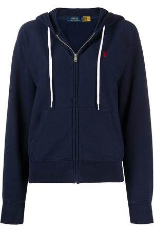 Polo Ralph Lauren Dames Hoodies - Zip-up cotton hoodie
