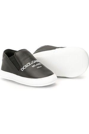 Dolce & Gabbana Logo print slip-on sneakers