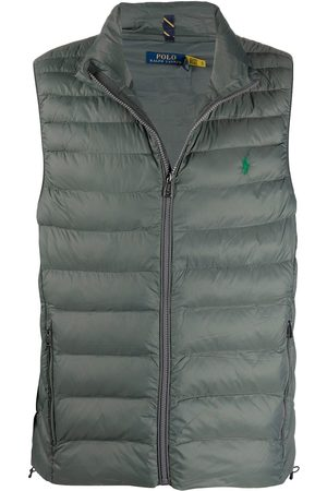 Polo Ralph Lauren Heren Bodywarmers - Logo-embroidered quilted gilet