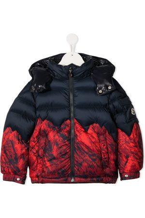 Moncler Lava print padded jacket