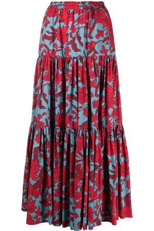 La DoubleJ Floral print skirt