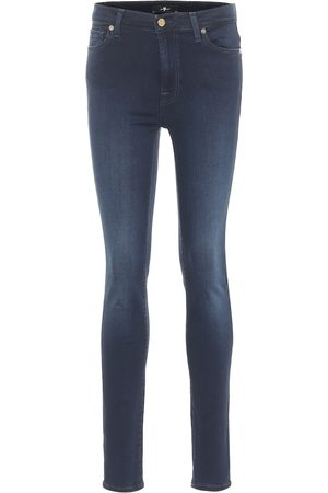 7 for all Mankind Slim Illusion Luxe high-rise skinny jeans