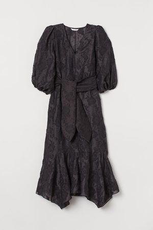 H&M Jacquardgeweven jurk
