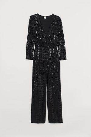 H&M Glanzende jumpsuit