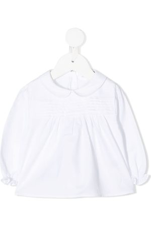KNOT Pleated baby blouse