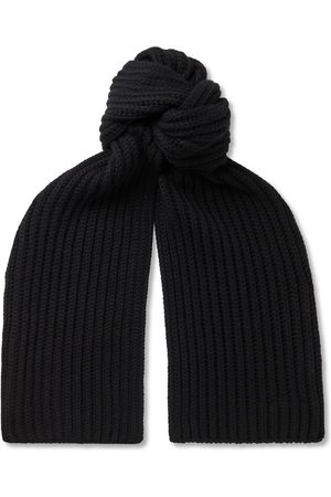 Loro Piana Heren Sjaals - Ribbed Cashmere Scarf