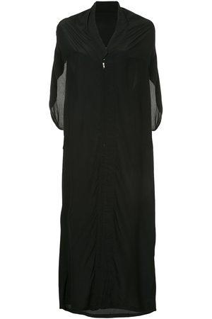 YOHJI YAMAMOTO Sleeveless kimono style dress