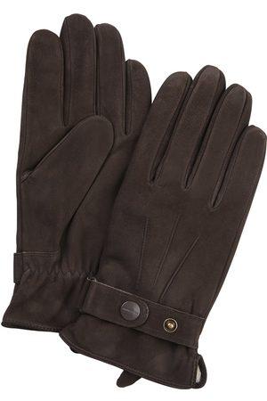 Profuomo Heren Handschoenen - Heren bruine nubuck handschoenen