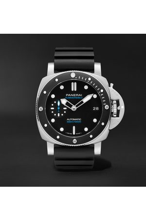 PANERAI Heren Horloges - Submersible Automatic 42mm Stainless Steel and Rubber Watch