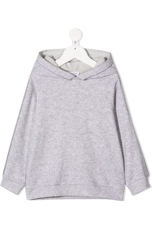 Brunello Cucinelli Beaded-sleeve hoodie