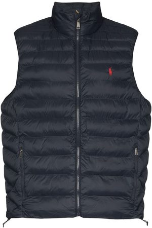 Polo Ralph Lauren Logo-embroidered puffer gilet