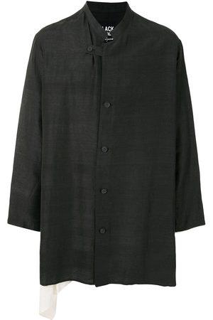 YOHJI YAMAMOTO Button-down silk blazer