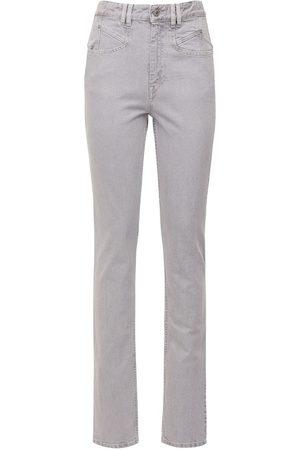 Isabel Marant Naliska Cotton Denim Straight Jeans