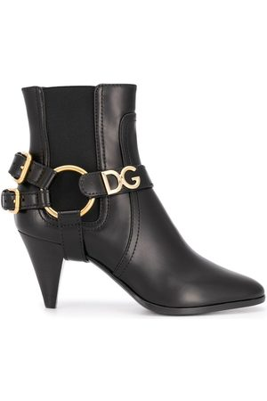 Dolce & Gabbana Double buckled boots