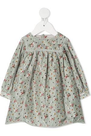 BONPOINT Floral print smock dress