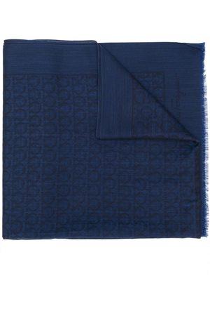 Salvatore Ferragamo Gancio jacquard scarf