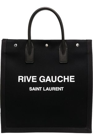 Saint Laurent Logo print tote bag