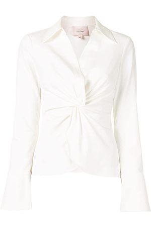 Cinq A Sept Knot detail shirt