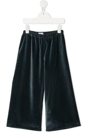 Il gufo Velvet wide-leg trousers
