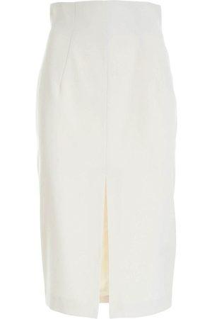 BLUMARINE Flannel Tube Skirt