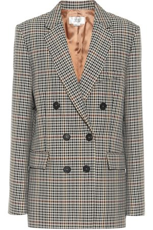 Victoria Victoria Beckham Checked wool-blend jacket
