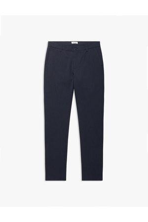 Woodbird Steffen plin pants navy 2036-208