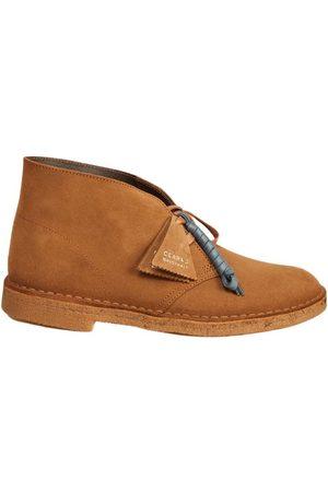 Clarks Desert boots cola suede
