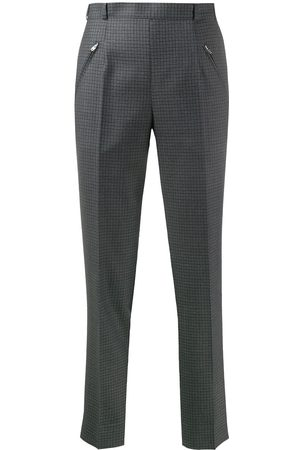Maison Margiela Check tapered trousers