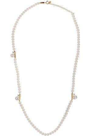 Tasaki 18kt yellow Petit Balance Class Akoya pearl and diamond necklace