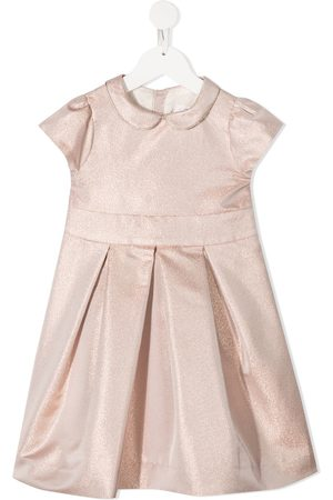 BONPOINT Metallic pleated dress