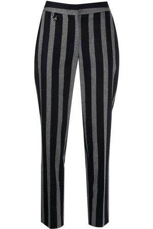 LORENA ANTONIAZZI Striped peg trousers