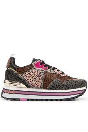 Liu Jo Leopard-print panelled sneakers
