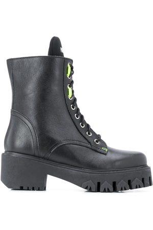 Patrizia Pepe Lace-up biker boots