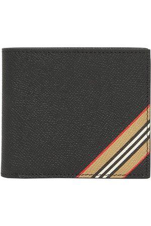 Burberry Heren Portemonnees - Icon stripe bi-fold wallet