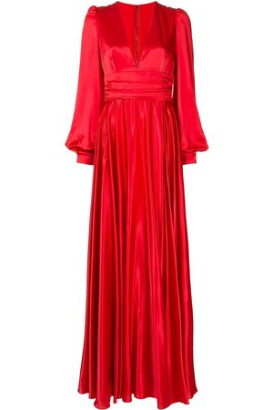 Dolce & Gabbana Draped silk evening gown