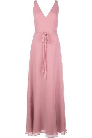 Marchesa Notte Tie waist bridesmaid dress