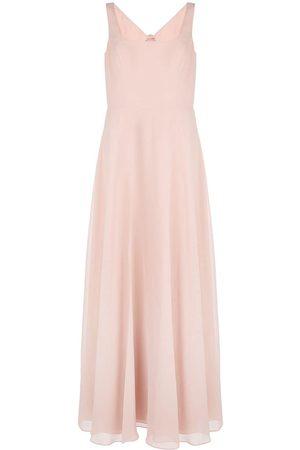 Marchesa Notte Square neck bridesmaid dress