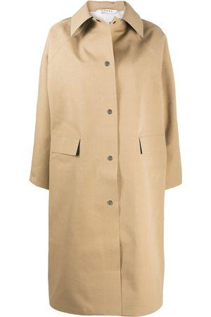 Kassl Editions Point collar rain coat