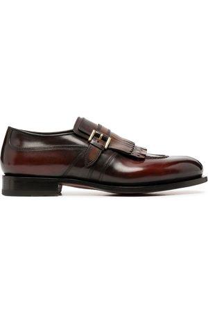 santoni Fringe-trimmed shoes