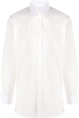 Maison Margiela Long-sleeve cotton shirt