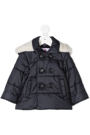 Il gufo Faux-fur hood padded coat