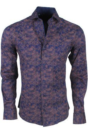 New Republic Dinero milano heren overhemd slim fit