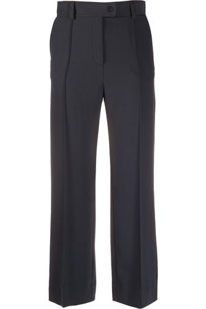See by Chloé Cropped crêpe trousers