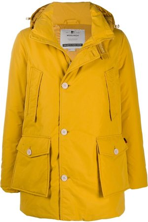 Woolrich Hooded button-up down jacket