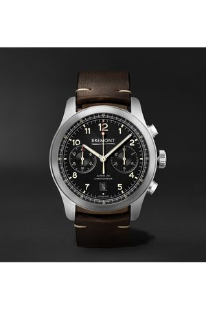 Bremont ALT1-C Griffon Automatic Chronograph 43mm Stainless Steel and Leather Watch