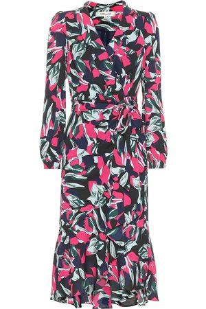 Diane von Furstenberg Dames Jurken - Carla Two crêpe wrap dress