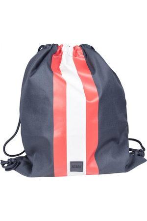 Urban Classics Schoudertas 'Striped Gym Bag